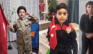Çocuklardan Mehmetçiklere selam