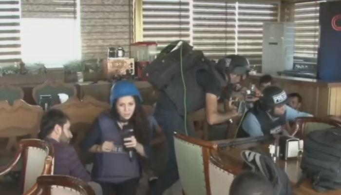 Son dakika! Kamışlı'dan Nusaybin'de gazetecilerin bulunduğu binaya ateş açıldı