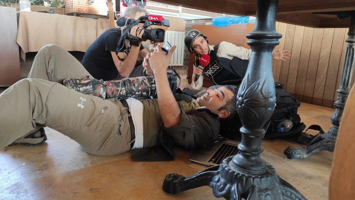 Teröristlerden Nusaybin'deki gazetecilere silahlı saldırı