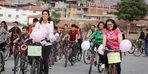 Kula'da 'Amatör Spor Haftası'nda bisiklet turu