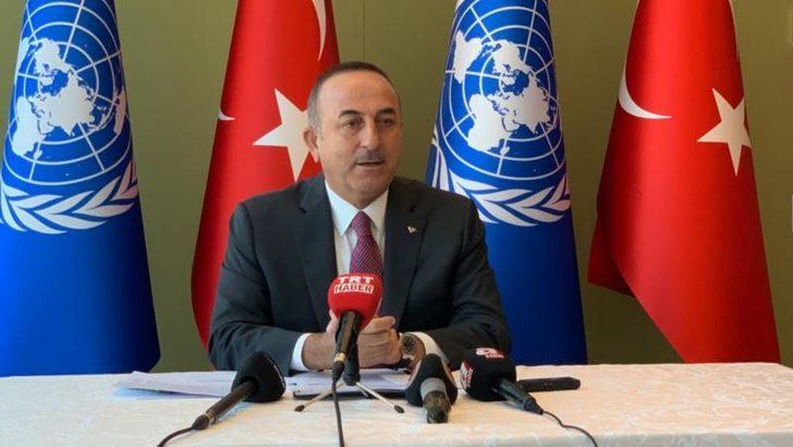 Çavuşoğlu: 'Bizim Savaşımız Teröristlere Karşı'