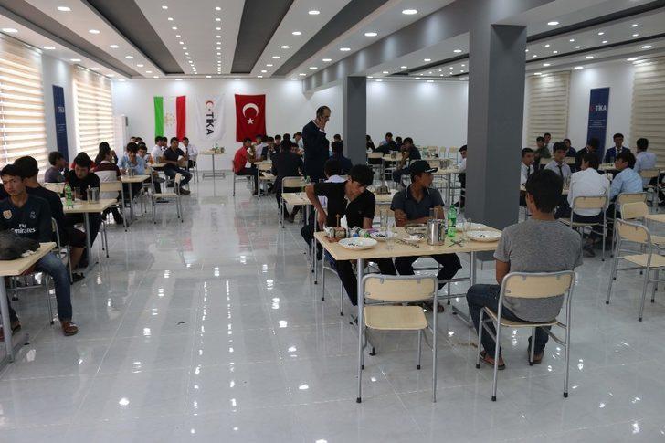 TİKA, Tacikistan'ın eğitim altyapısına katkı sunmaya devam ediyor