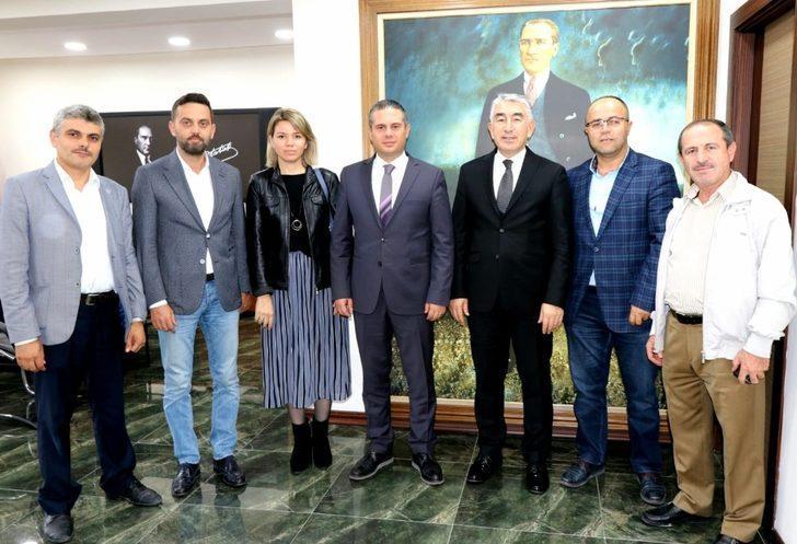 AK Parti Çanakkale İl Başkanlığından Emniyet Müdürü Karaduman'a ziyaret