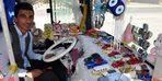 Otobüsünü oyuncakçı dükkanına çevirdi