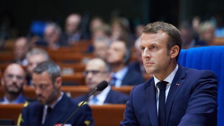 Macron'dan Suriye diplomasisi : AB yaptırımı mı geliyor?