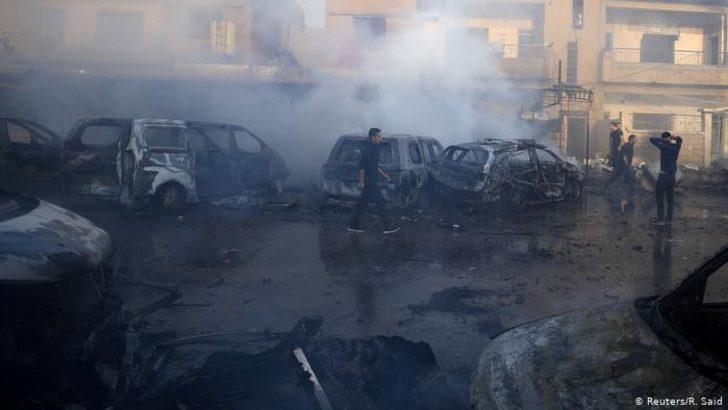 IŞİD'lilerin tutulduğu cezaevi önünde patlama