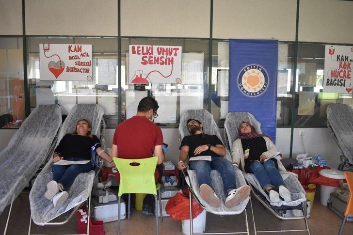TEGV'den Kızılay'a kan bağışı