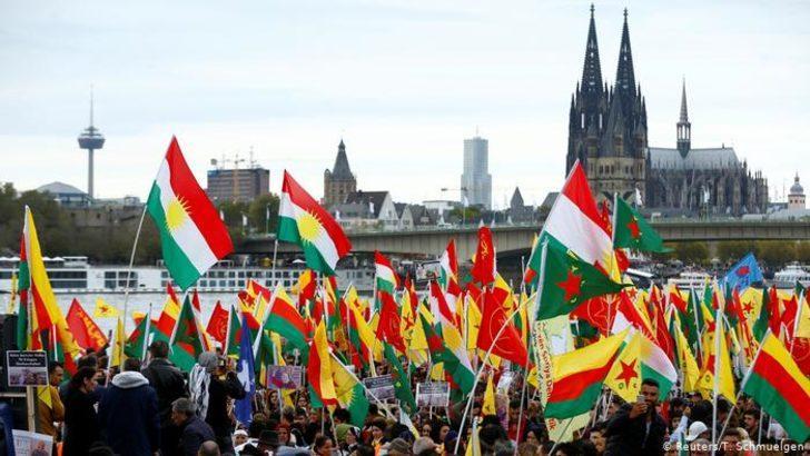 Türkiye'nin askeri harekâtı Almanya'da protesto edildi