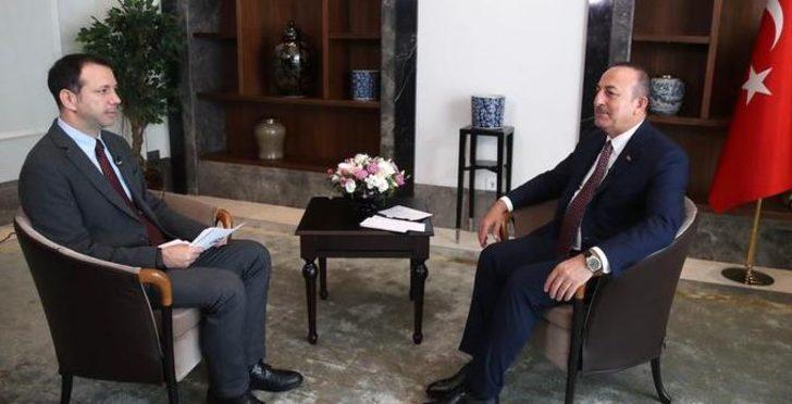 Dışişleri Bakanı Mevlüt Çavuşoğlu'ndan ABD'nin yaptırım tehdidine yanıt