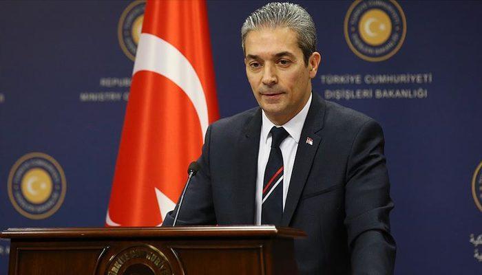 Dışişleri Bakanlığı Sözcüsü Hami Aksoy'dan Arap Birliği'nin harekat açıklamasına tepki