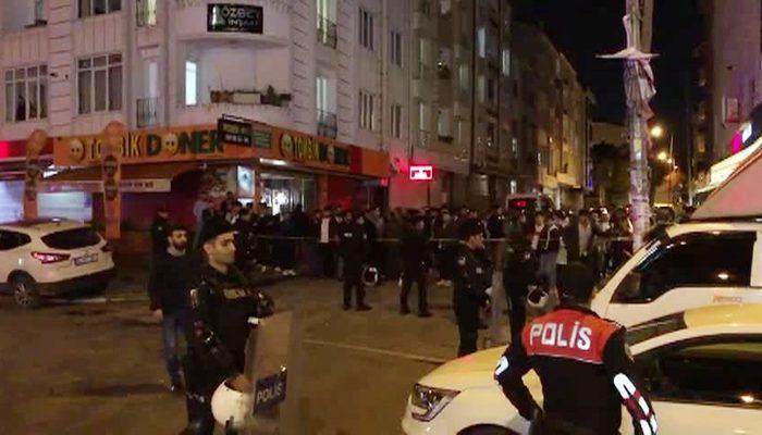 İstanbul'da sıcak dakikalar! Sokak ortasında polisle çatıştılar!