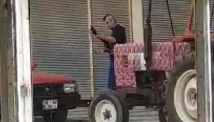 Sarız Belediye Binası'na pompalı tüfekle ateş açan saldırgan yakalandı