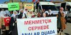 Bitlisli kadınlar, annelere destek için Diyarbakır'a gitti