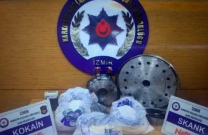 Yedek parça içinde gizlenmiş 7 kilogram kokain ele geçirildi