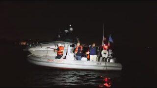Kadıköy'de tekne kurtarma operasyonu!