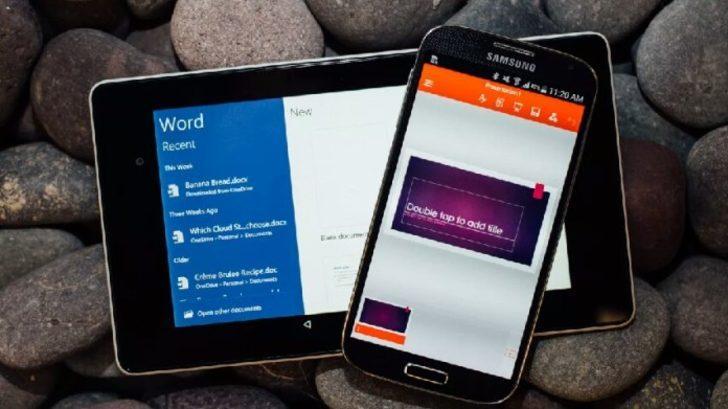 Microsoft Mobil Ofis uygulamaları sonunda birleşiyor
