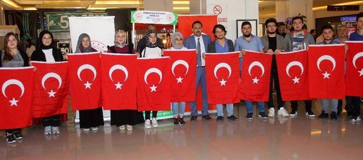 KYK öğrencilerinden Barış Pınarı Harekatı'na tam destek
