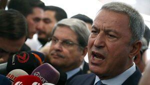 Milli Savunma Bakanı Akar muhalefet partilerini bilgilendirdi: Harekat öngörülen takvimden hızlı ilerliyor