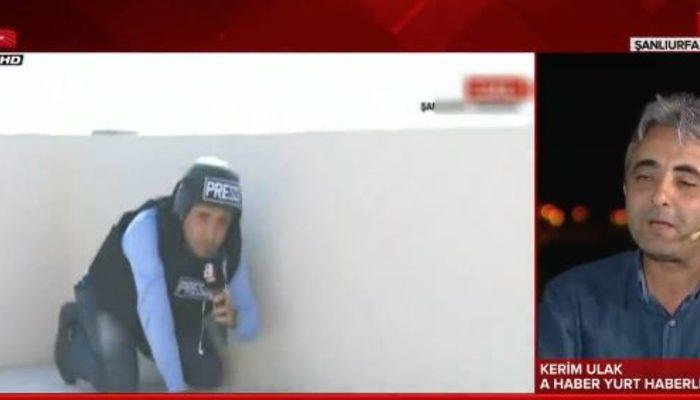 A Haber muhabirinin sınırdaki görüntüsü sosyal medyada olay olmuştu! Kerim Ulak'tan açıklama geldi