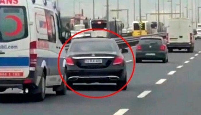 Ambulansa yol vermeyen sürücüye 2 ay 15 gün hapis cezası