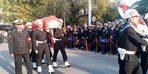 İspanya'da çalıştığı gemideki kazada ölenemekli astsubay için askeri tören
