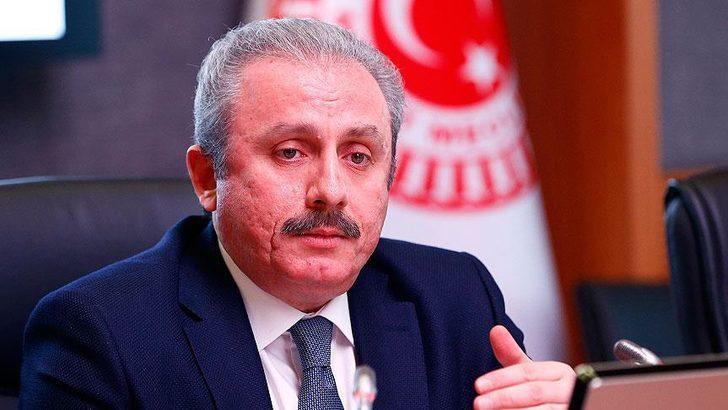 TBMM Başkanı Mustafa Şentop'tan yaptırım açıklaması!