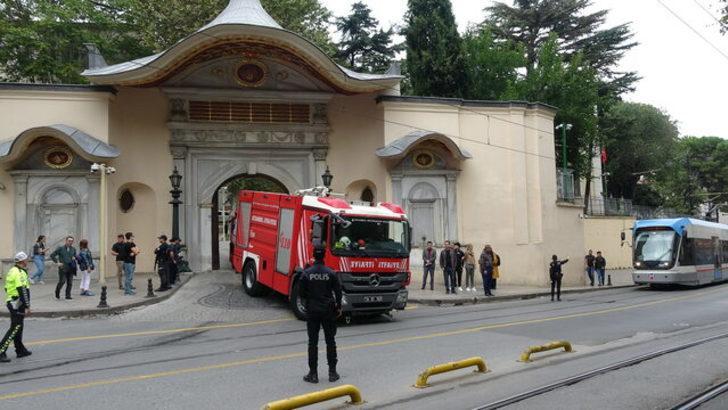 İstanbul Valiliği'ndeki AFAD binasında yangın