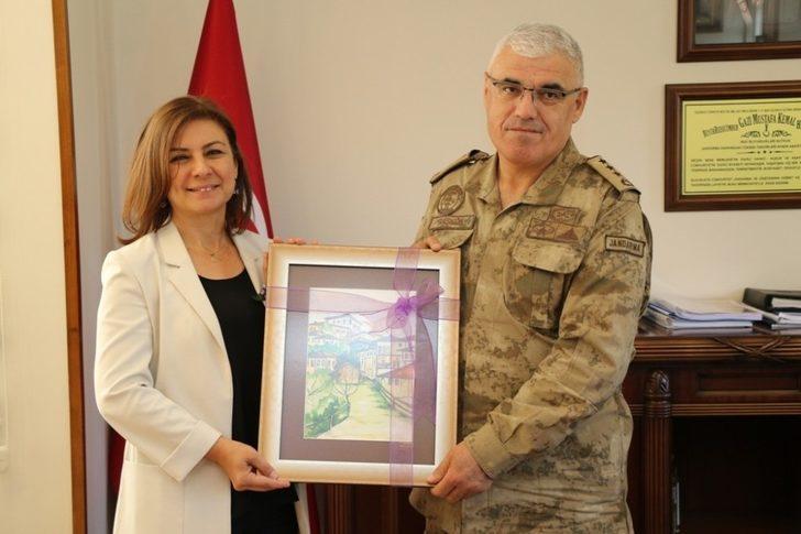 Köse'den Albay Başkök'e ziyaret