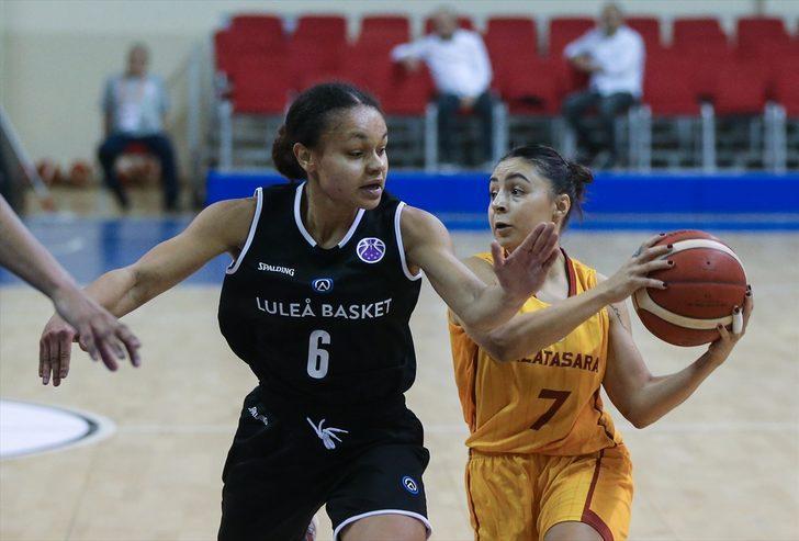 Galatasaray 74 - 55 Lulea BBK (Kadınlar EuroCup)