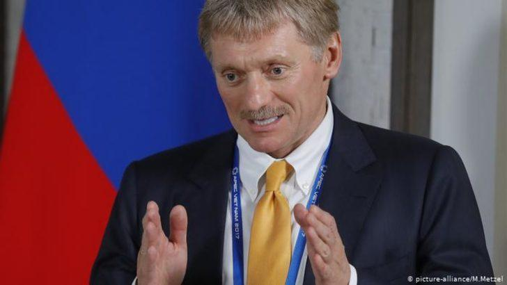 Putin'in sağ kolu Peskov'un testi de pozitif çıktı