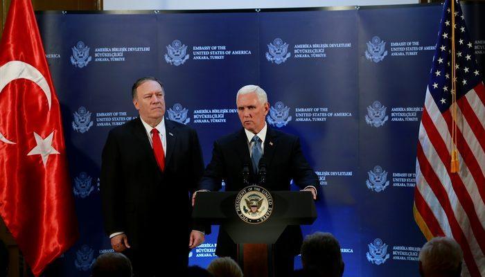 Son dakika: Erdoğan ile görüşmenin ardından ABD Başkan Yardımcısı Mike Pence'ten açıklama