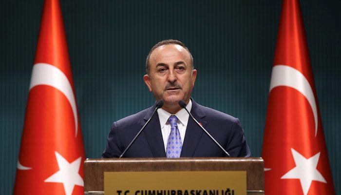 Son dakika: ABD heyetiyle görüşmenin ardından Dışişleri Bakanı Mevlüt Çavuşoğlu'ndan açıklama!