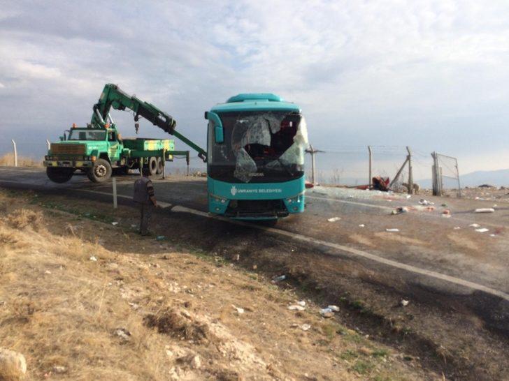 Çankırı'da trafik kazası: 34 yaralı