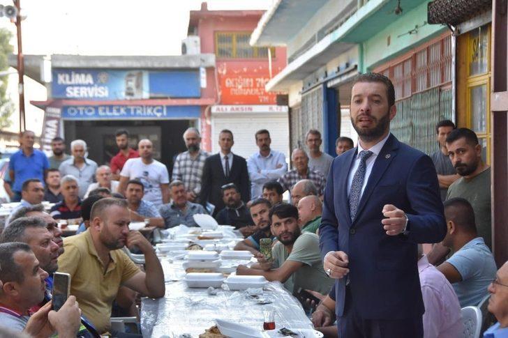 """Aydar: """"Ceyhan Belediyesi oturarak yönetilmez"""""""