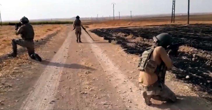 Barış Pınarı Harekat bölgesinde mayın ve EYP temizliği sürüyor
