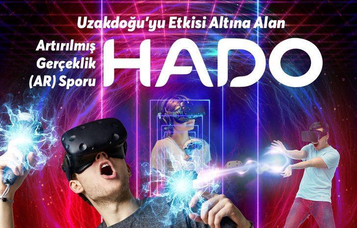 Artırılmış Gerçeklik Sporu HADO İstanbul'da