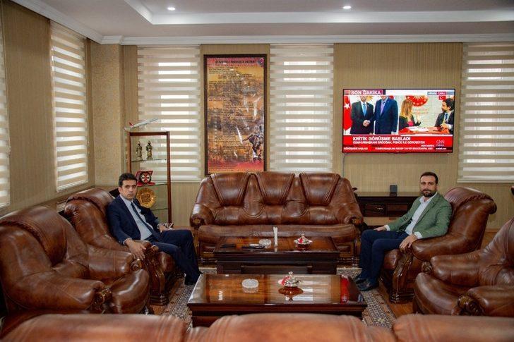 Başkan Nasıranlı ziyaretlerine devam ediyor