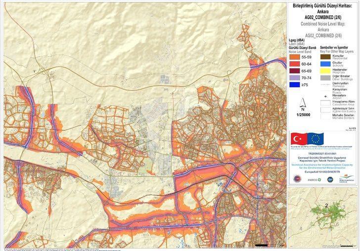 Ankara Büyükşehir Belediyesi ve TÜBİTAK'tan Gürültü Eylem Planı