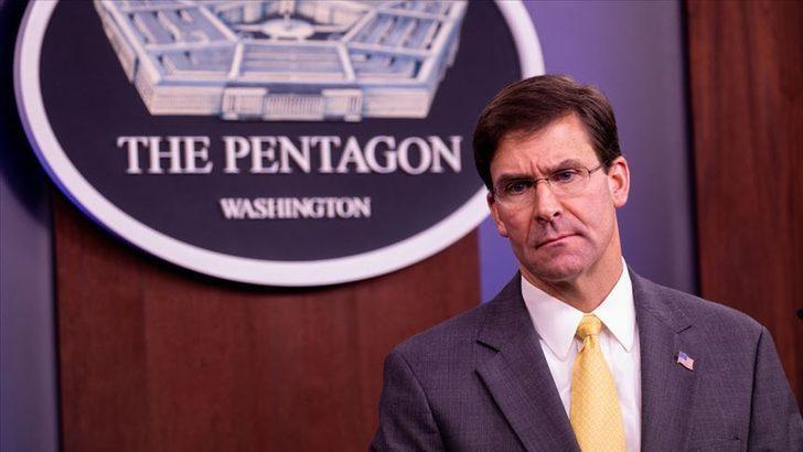 ABD Savunma Bakanı Esper'den Suriye açıklaması