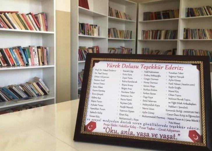 Horasan'a iki bin kitap kapasiteli kütüphane