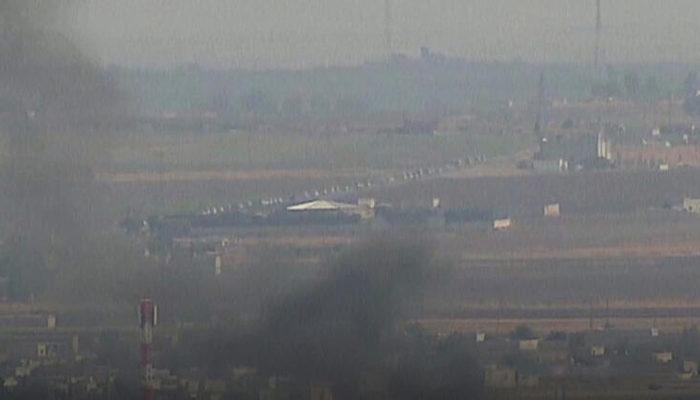 PKK/YPG'li teröristlerin çekilmesi böyle görüntüledi