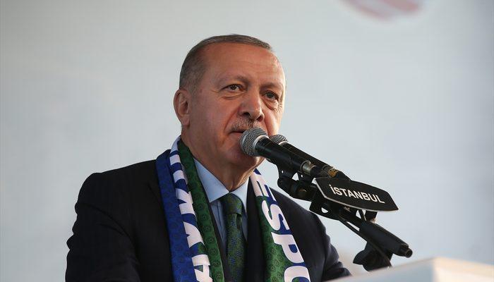 Son dakika! Cumhurbaşkanı Erdoğan'dan Barış Pınarı Harekatı açıklaması: Anlaşmaya uyulmazsa devam ederiz