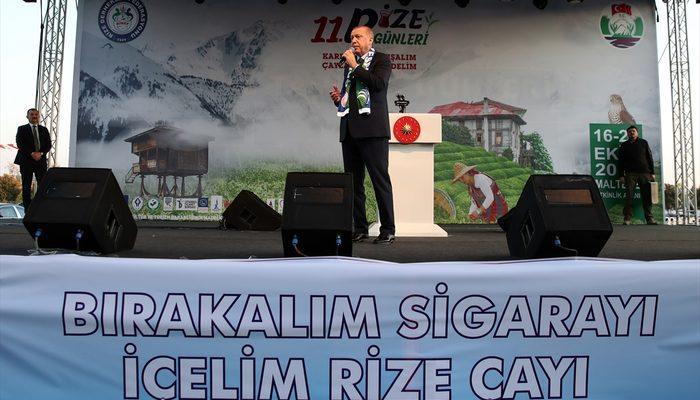 Son dakika! Cumhurbaşkanı Erdoğan'dan 'sigara' açıklaması