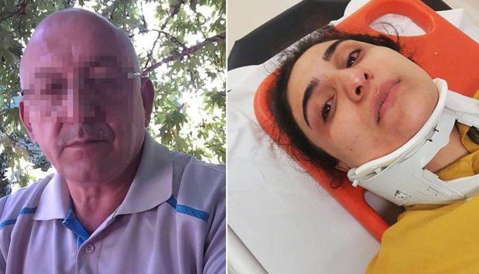 Kocaeli'de korkunç olay! 4 yaşındaki torununun önünde gelinini hastanelik etti