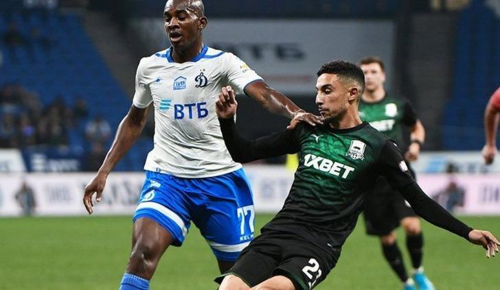 Dinamo Moskova 1 - 1 Krasnodar