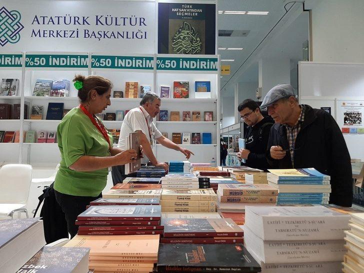 Atatürk Kültür Merkezi Başkanlığı Ankara Kitap Fuarı'nda