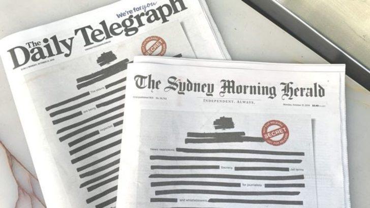 Ülkede tüm gazeteler bugün böyle basıldı!