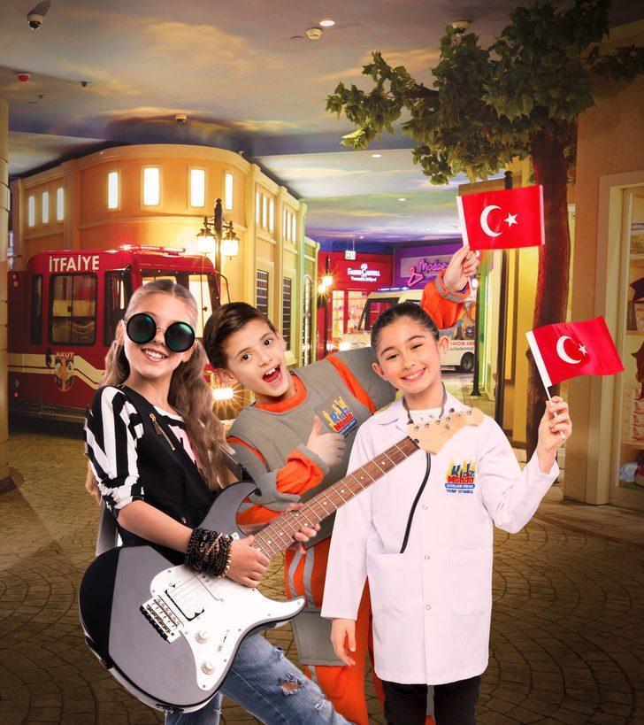 Çocuklar 29 Ekim'i 'Çocuk Şehri'nde kutlayacak