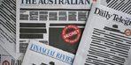 Avustralya'da gazeteler sayfalarını kararttı