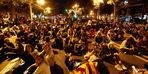 Barselona'da gösteriler ilk haftasını doldurdu